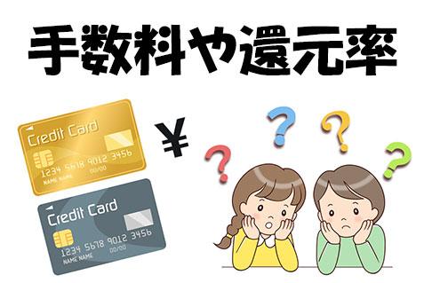 クレジットカード現金化 還元率
